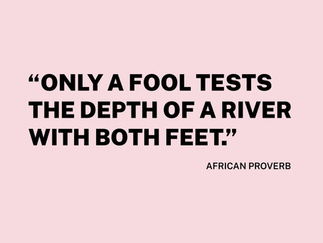 African Proverbs.
