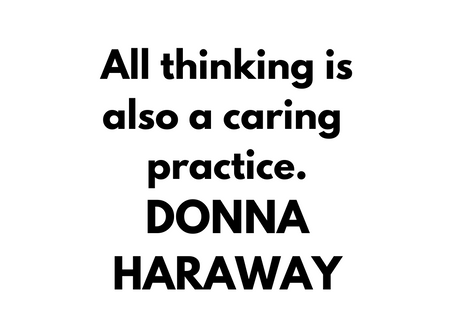 Inspiration quote by Donna Haraway⁠ ⁠ ⁠