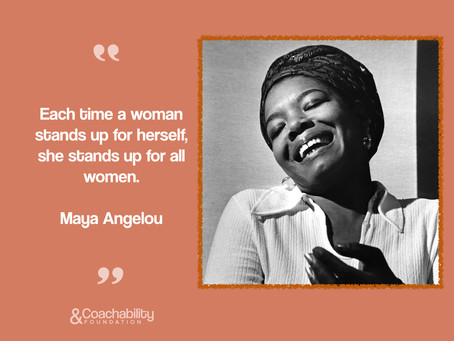 #02 Quote. Inspirational moment by Maya Angelou.