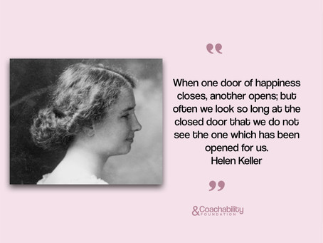 #Quote14.Inspirational moment by Helen Keller