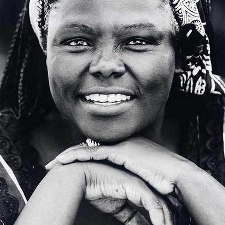 Women who has changed the world. Wangari Maathai.