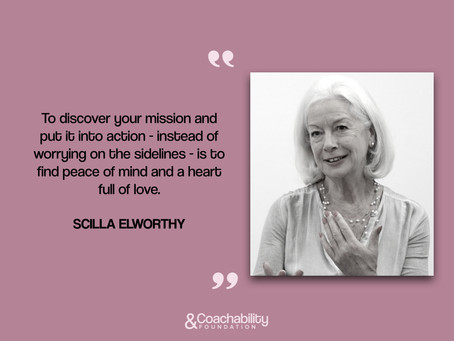 #quote 27.Inspirational quote by Scilla Elworthy