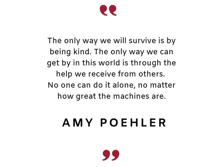 #38 Inspirational quote by Amy Poehler.