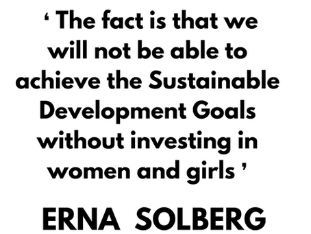 Inspirational Quote by Erna Solberg