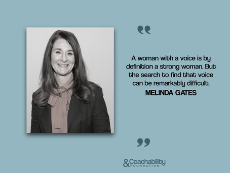 #quote 28.Inspirational quote by Melinda Gates.