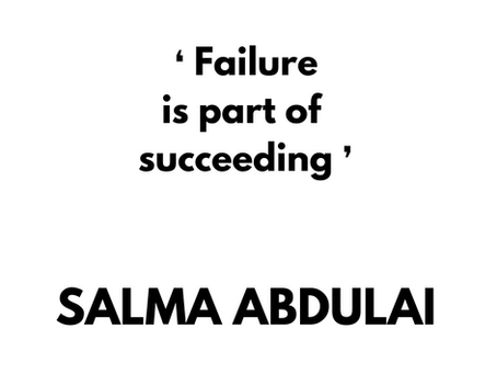 Inspirational quote by Salma Abdulai.