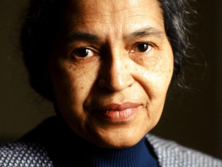 8th of March International Women's Day. Rosa Parks.