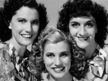 Wed Music. The Andrew Sisters