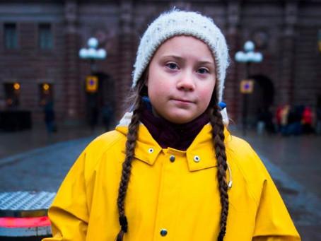 Changemakers. Greta Thunberg.