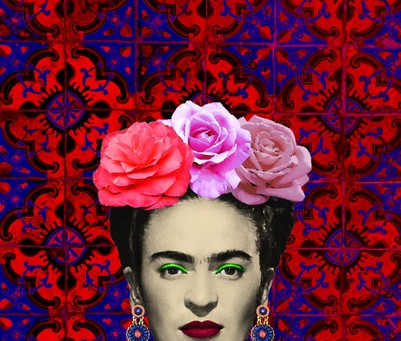 Talk about us.Enigmatic and passionate Frida
