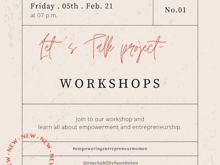 Let's talk Project. Let's talk to remarkable entrepreneurs