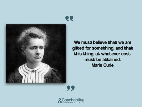 #quote 15.Inspirational moment by Marie Curie