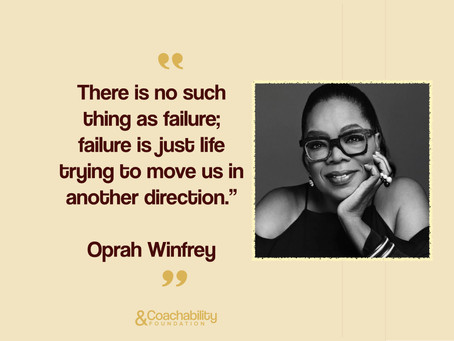 #03 Quote. Inspirational moment by Oprah Winfrey