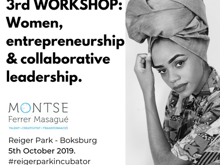 3rd Workshop: Women entrepreneurship & collaborative leadership.