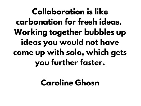 Inspirational quote by Caroline Ghosn