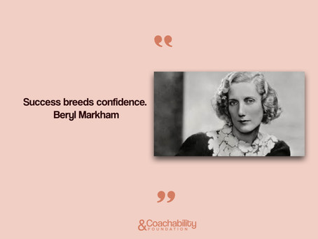 #Quote12. Inspirational moment by   Beryl Markham