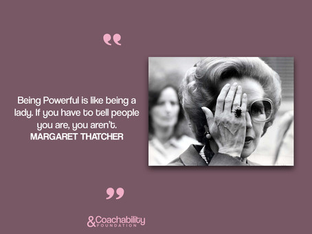 #quote 18.Inspirational moment by Margaret Thatcher