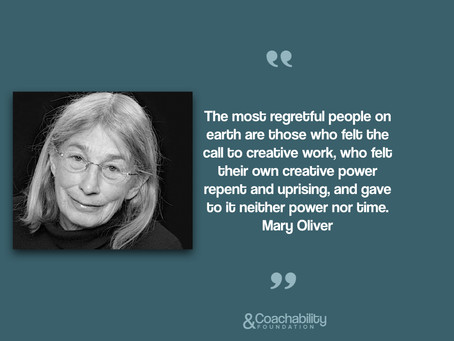 #06 Quote.Inspirational moment by Mary Oliver.