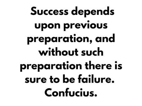 Inspirational quote about success and failure. 