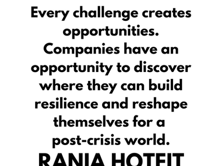 Inspirational Quote by Rania Hoteit