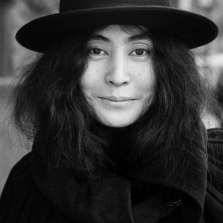 ⎈ Wise Words by Yoko Ono. 