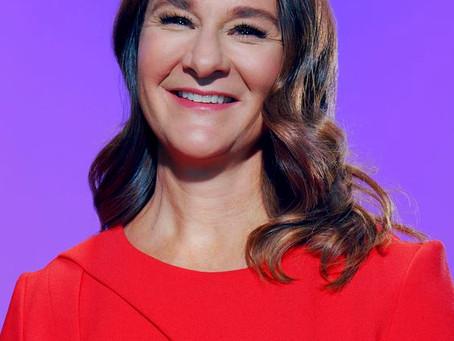 Talk about us. Melinda Gates