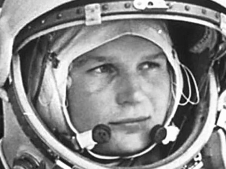 Remarkable Women. 8th of March International Women's Day.⁠ ⁠Valentina Tereshkova.