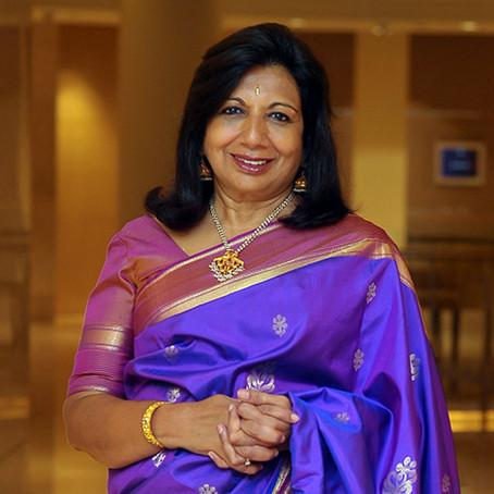 Entrepreneurship. Kiran Mazumdar-Shaw.