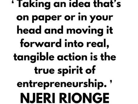 Inspirational quote by NJERI RIONGE