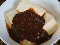 黒い麻婆豆腐