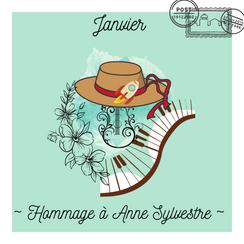 Janvier  ~ Hommage à Anne Sylvestre
