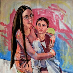 Self Portrait with Son