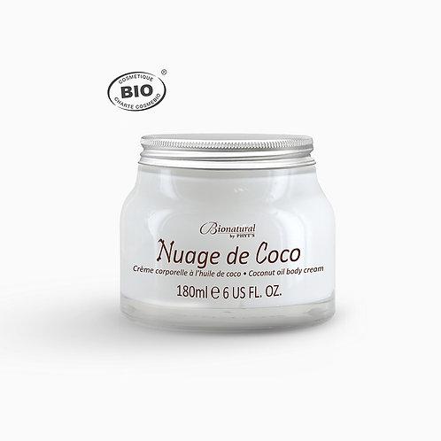 Nuage de coco crème corps bio Phyt's