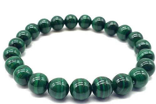 Bracelet Dark Green Malachite 8mm