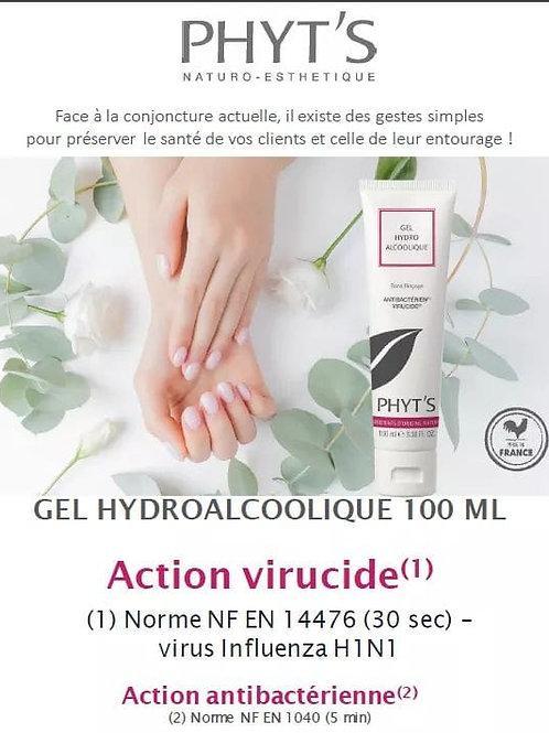 Gel hydroalcoolique antivirucide bio Phyt's 100ml
