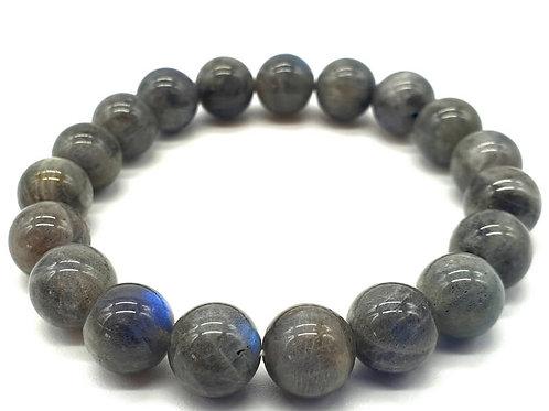 Bracelet ''Blue Light'' Labradorite 10mm