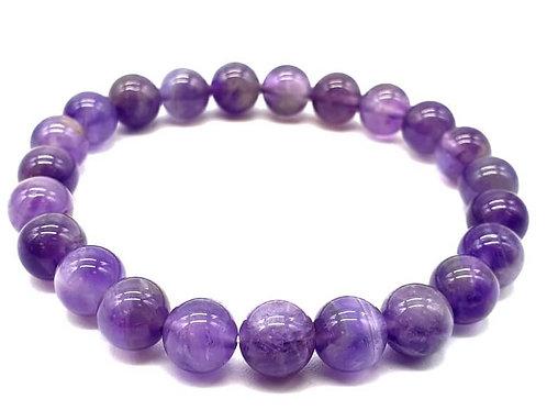 Bracelet Purple Améthyste 8mm
