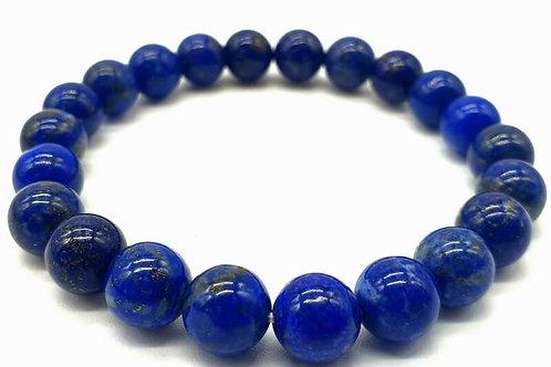 Bracelet Lapis Lazuli 8mm ou 10mm