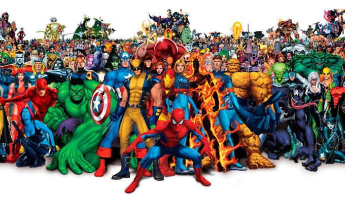 Group of Superheroes