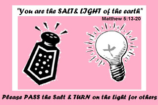 Be the Salt and the Light