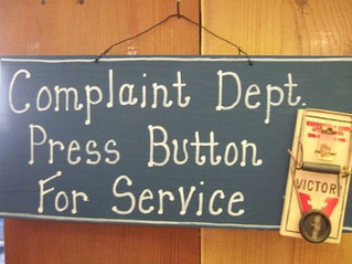"""What if Dr. King had stated, """" I Have a Complaint...?"""""""