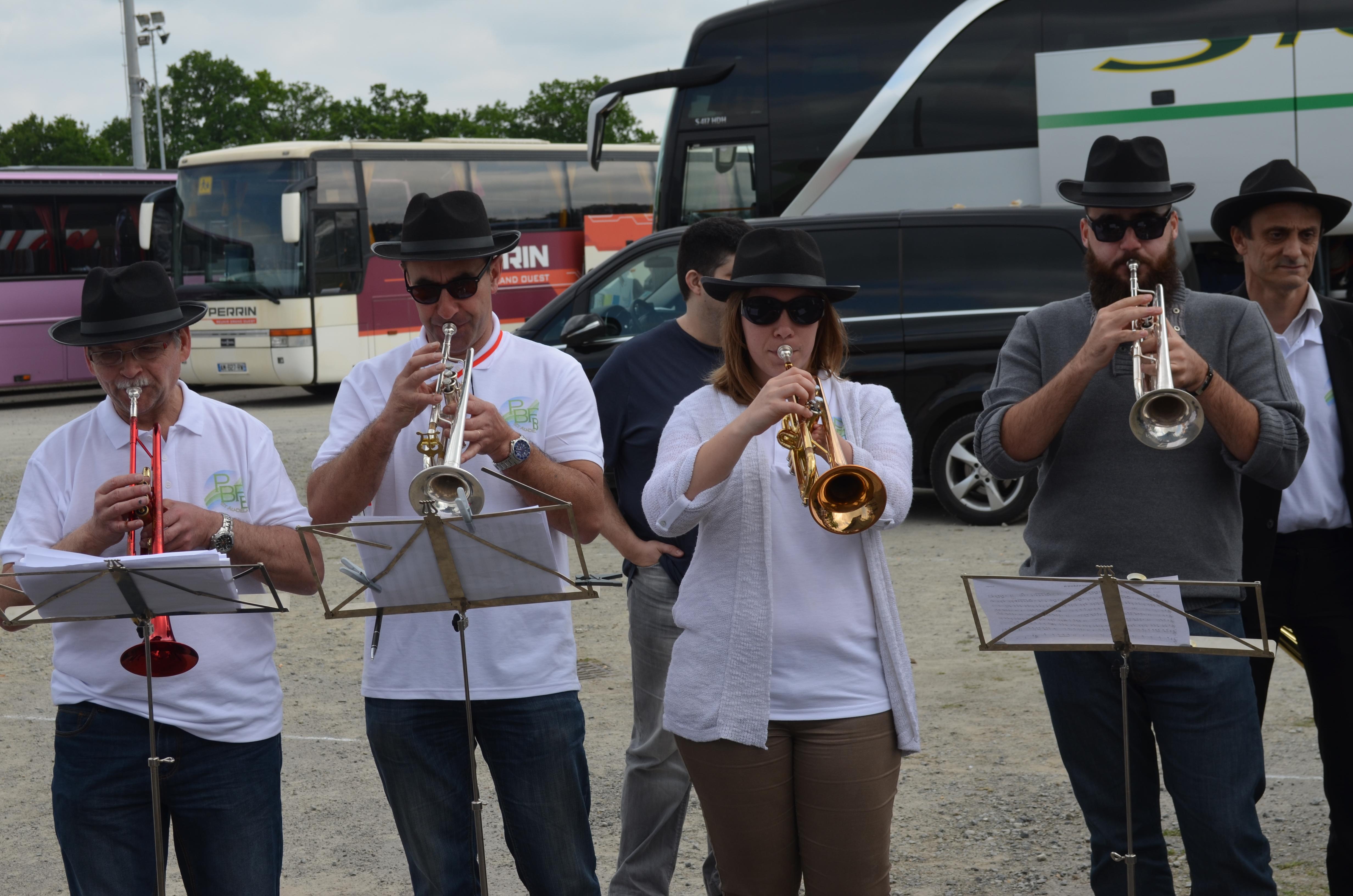chauffe avant concours musique de rue