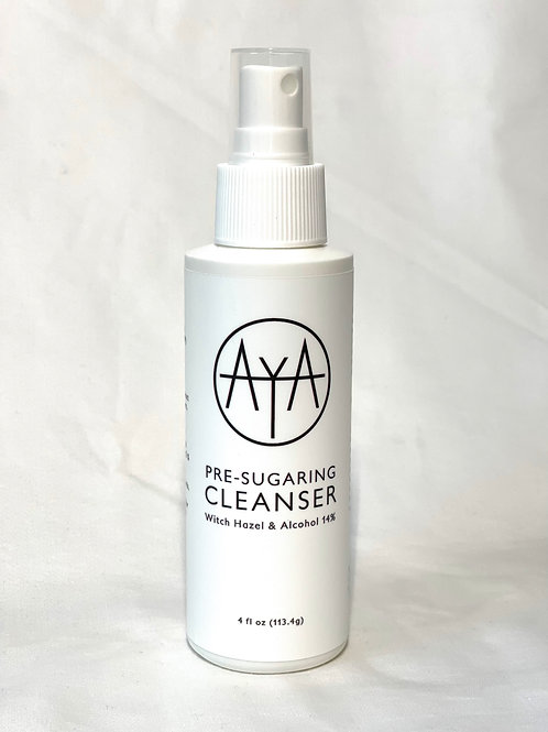 Pre-Sugaring Cleanser w/ Hazel and Alcohol 14% 4oz (113.4g)