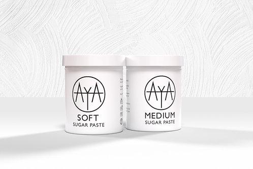 Set of 2 Sugar Paste 48oz (1.36kg)