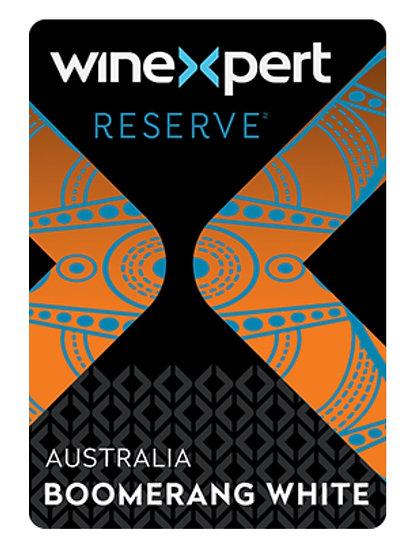Reserve Australian Boomerang White 10L Wine Kit