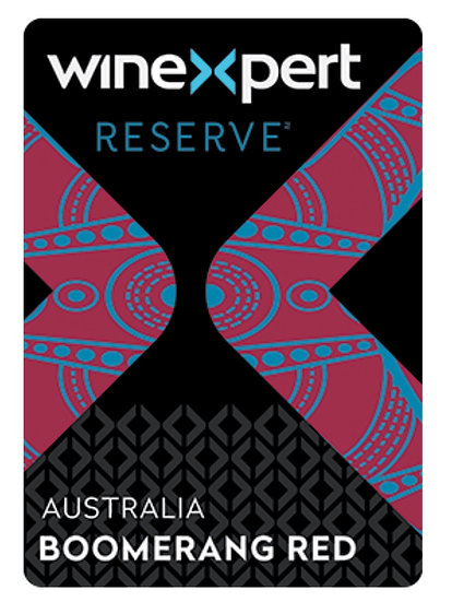 Reserve Australian Boomerang Red 10L Wine Kit