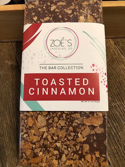 Toasted Cinnamon chocolate bar