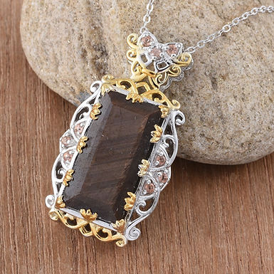 Sapphire      ( Golden Rutilated Chocolate )