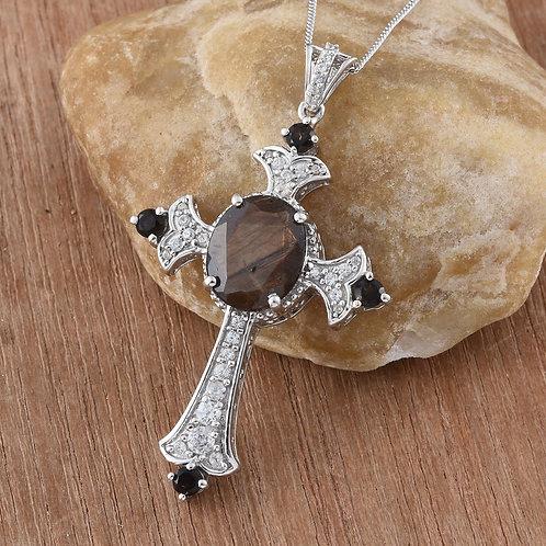 Chocolate Sapphire Cross