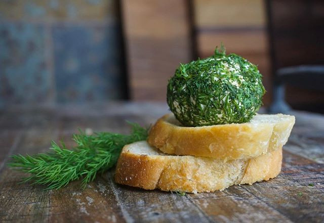 Mini Cheese Balls with Dill